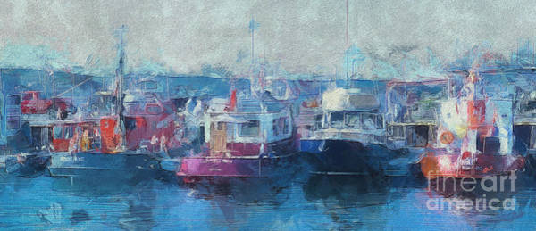 Photograph - Tugs Together  by Claire Bull