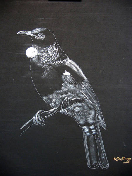 Painting - Tui by Richard Le Page