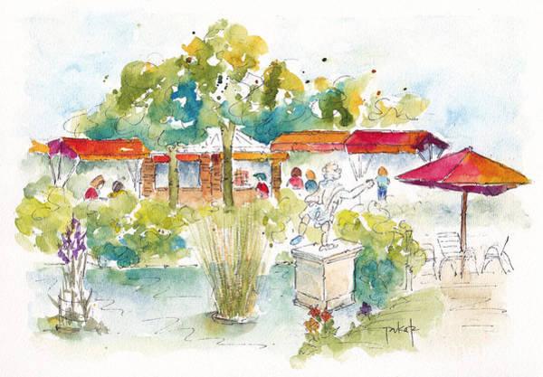 Painting - Tuileries Garden Paris by Pat Katz