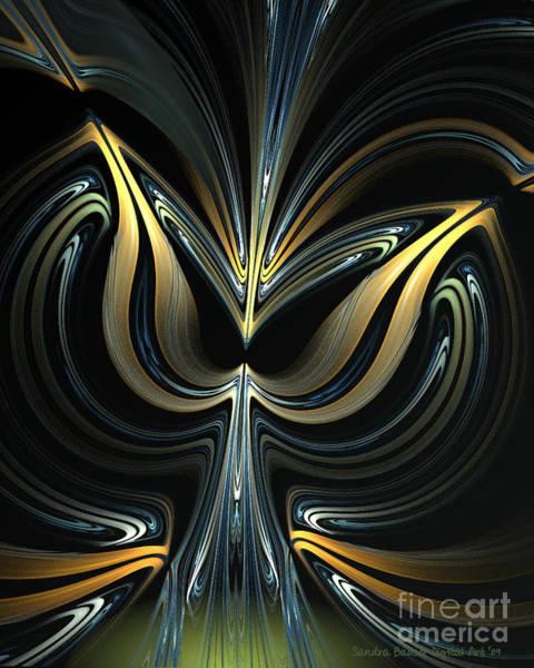 Digital Art - Tulip Abstract by Sandra Bauser Digital Art