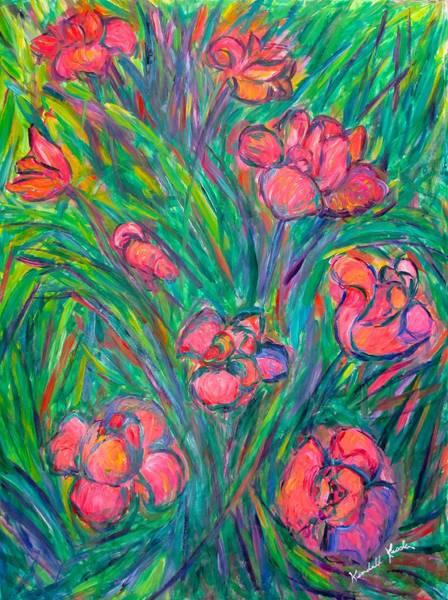 Painting - Tulip Curl by Kendall Kessler