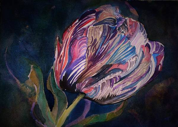 Wall Art - Painting - Tulip by Mindy Newman