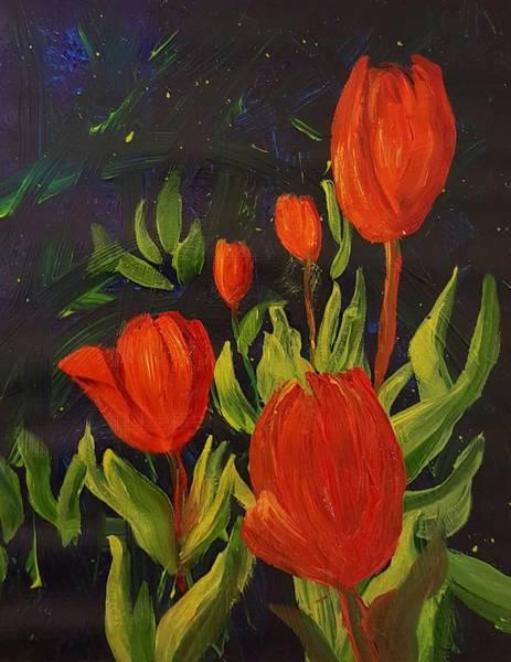 Painting - Tulips  47 by Cheryl Nancy Ann Gordon