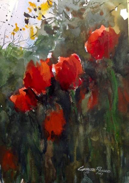 Painting - Tulips by Charles Rowland