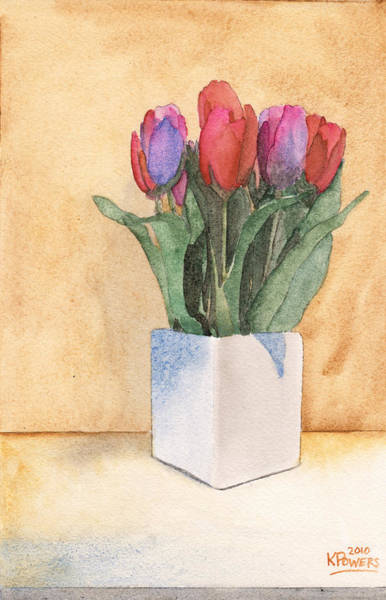 Painting - Tulips by Ken Powers