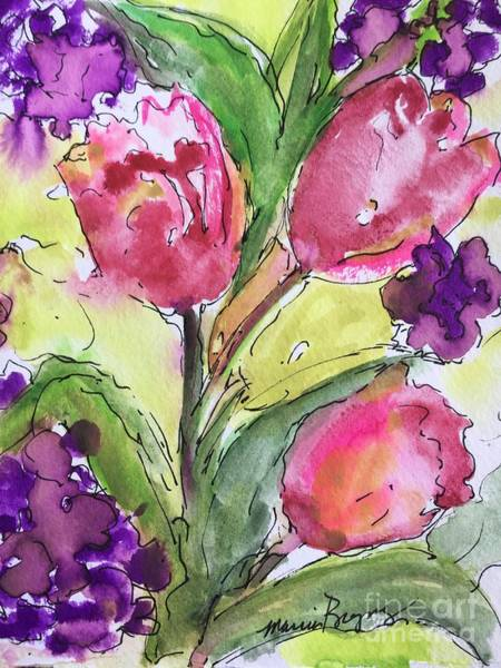 Painting - Tulips by Marcia Breznay