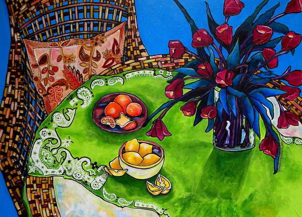 Painting - Tulips Sea Side by Patti Schermerhorn