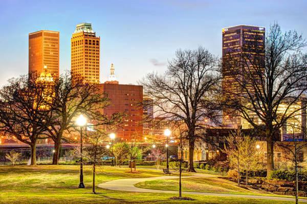 Photograph - Tulsa Through The Trees by Gregory Ballos