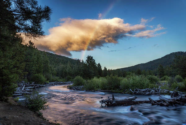 Wall Art - Photograph - Tumalo Creek Rainbow by Cat Connor