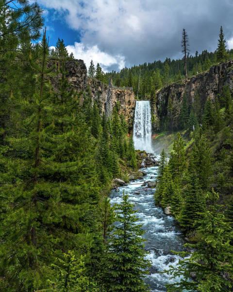 Photograph - Tumalo Falls by Bryan Xavier