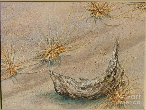 Painting - Tumblin' Tumbleweeds by Val Stokes