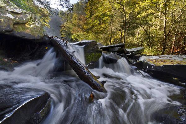 Birch River Photograph - Tumbling by Debra and Dave Vanderlaan