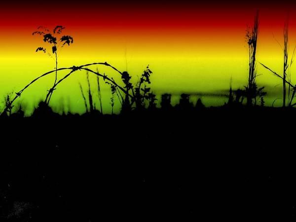 Digital Art - Tumbling Down by Robert Grubbs