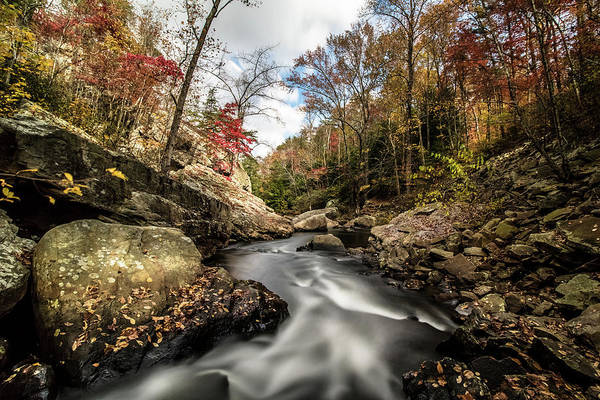 Photograph - Tumbling Water by Mike Dunn