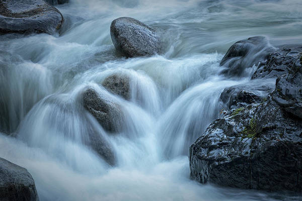 Photograph - Tumbling Water by Randy Hall