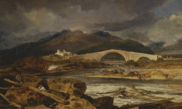 Painting - Tummel Bridge Perthshire by Joseph Mallord William Turner