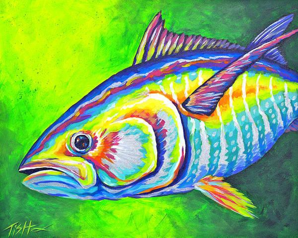 Painting - Tuna by Tish Wynne