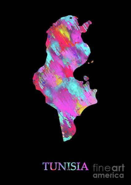 Tunisia Digital Art - Tunisia by Prar Kulasekara