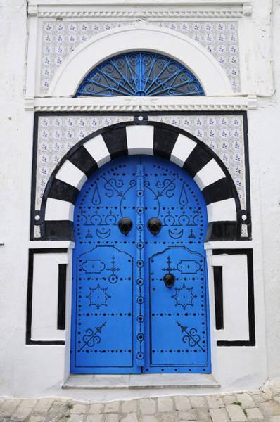 Wall Art - Photograph - Tunisian Door by Liz Pinchen