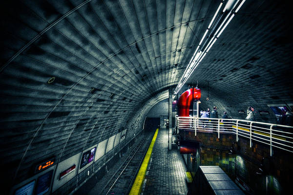 Wall Art - Photograph - Tunnel by Andrew Kubica