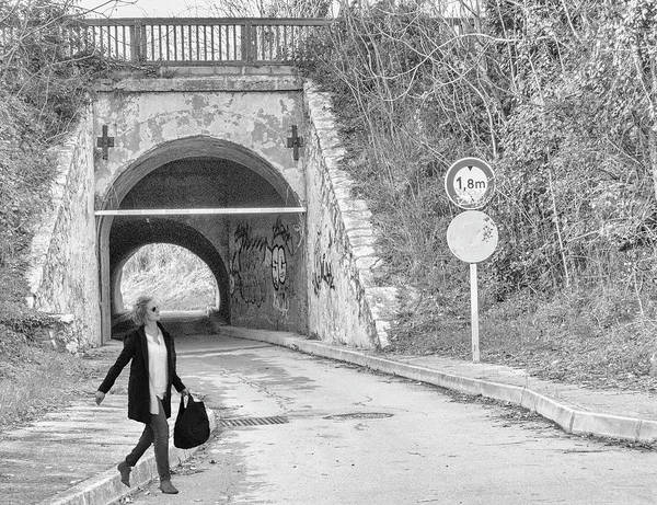 Photograph - Tunnel by Jessica Levant