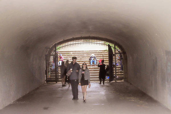 Photograph - Tunnel Music by Bonnie Follett