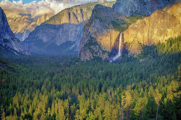 Photograph - Tunnel View At Sunset by Rick Berk