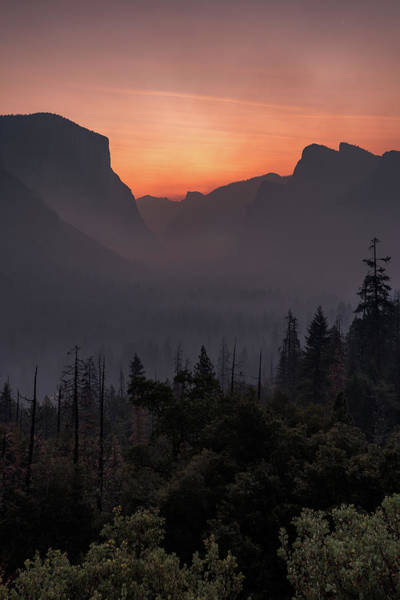 Wall Art - Photograph - Tunnel View Dawn by Davorin Mance