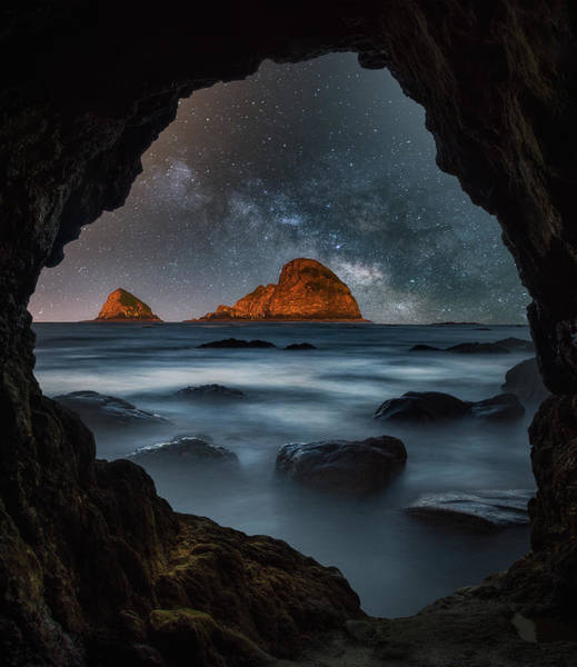 Photograph - Tunnel View Nights by Darren White