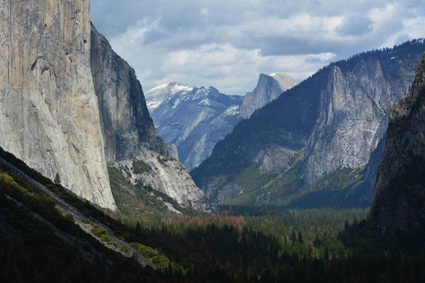 Photograph - Tunnel View Shadows by Kyle Hanson