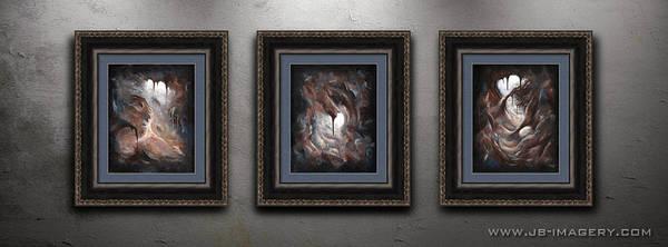 Painting - Tunnel Vision Display by Joe Burgess