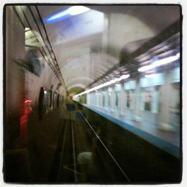 Photograph - Tunnel Vision... #train #travel  In by Tammy Winand