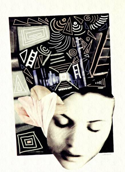 Sleep Mixed Media - Tunnels And Ladders by Sarah Loft