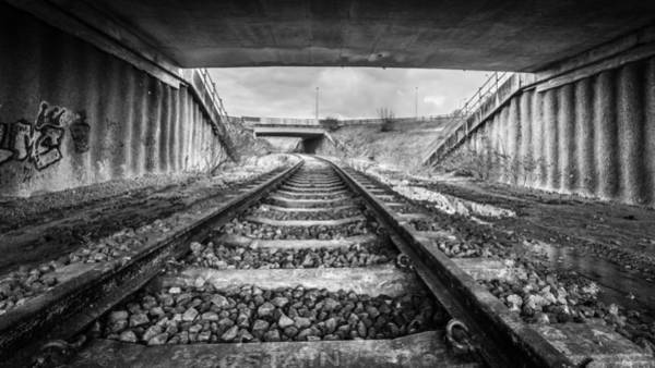 Photograph - Tunnels And Tracks by Gary Gillette