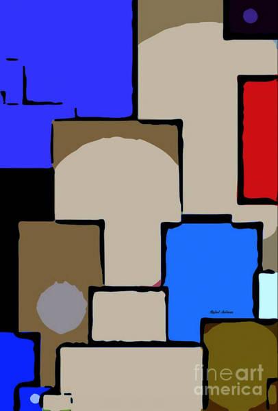Digital Art - Tunnels by Rafael Salazar