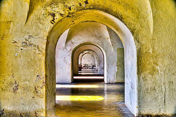 Castillo Wall Art - Photograph - Tunnelvision by Dado Molina