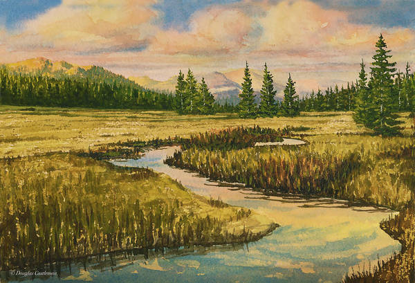 Painting - Tuolumme Meadows In The Late Afternoon by Douglas Castleman