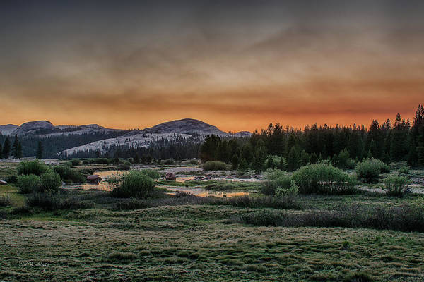 Potholes Wall Art - Photograph - Tuolumne Sunset by Bill Roberts
