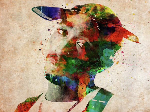 Front Digital Art - Tupac Shakur by Mihaela Pater