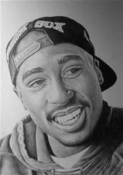 Wall Art - Drawing - Tupac by Tiera Snow