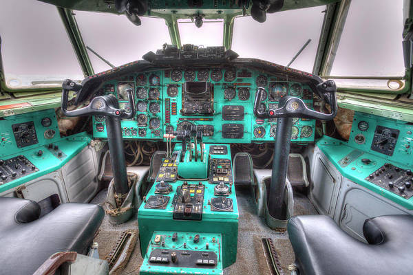 Wall Art - Photograph - Tupolev Tu-154 Cockpit by David Pyatt