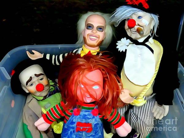 Chucky Wall Art - Photograph - Tupperware Of Terror by Ed Weidman