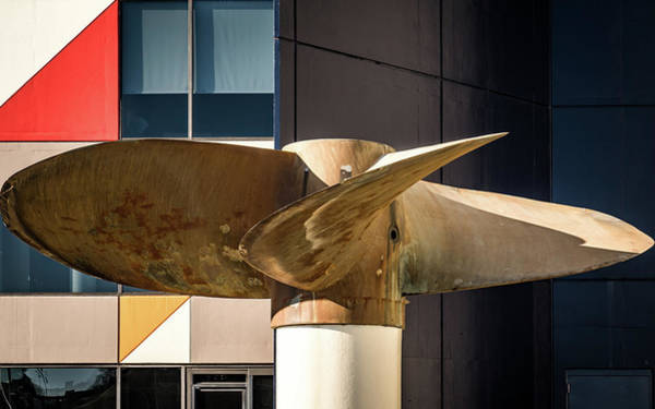 Photograph - Turbine With Art by Framing Places
