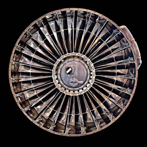 Photograph - Turbofan by KJ Swan