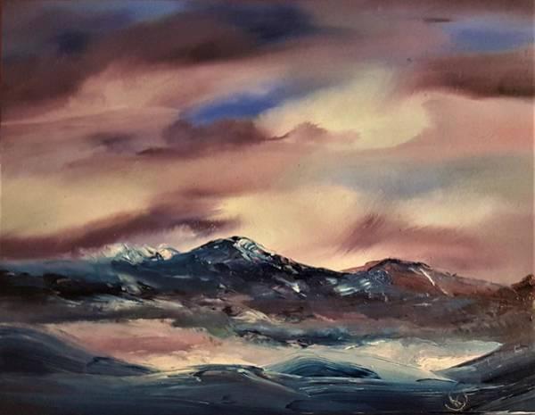 Painting - Turbulance                   70 by Cheryl Nancy Ann Gordon