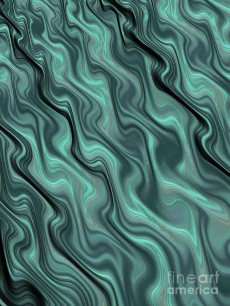 Current Wall Art - Digital Art - Turbulent Flow by John Edwards