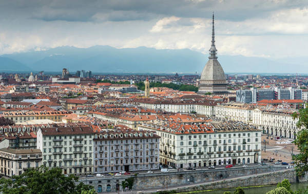 Photograph - Turin, Piedmont, Italy by Alexandre Rotenberg
