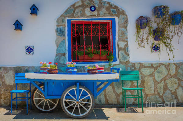 Wall Art - Photograph - Turkish Cart by Inge Johnsson