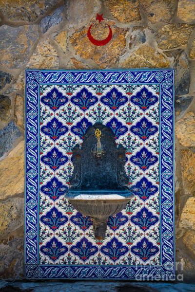 Wall Art - Photograph - Turkish Fountain by Inge Johnsson