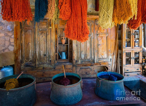 Aegean Sea Photograph - Turkish  Rug Maker by Inge Johnsson